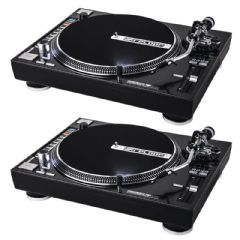 2 x Reloop RP-8000 Pro USB MIDI Serato DJ Turntable Vinyl Record Player Deck